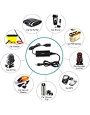 110 to 230 AC to DC 12 volts 60 Watts power converter car cigarette charger socket
