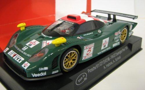 Slot.It Porsche 911 GT1 Evo 98 #5 FIA GT Donington Park 1998 Performance Slot Car (1:32 Scale)