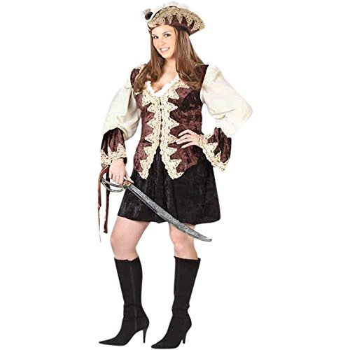 Royal Lady Pirate Adult Plus Costume ()