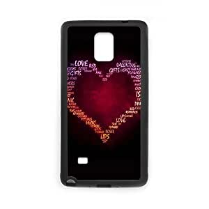 Samsung Galaxy Note 4 Cell Phone Case Black_Love of my heart Axhka