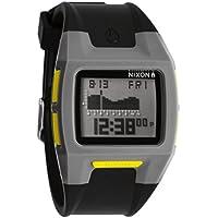 Nixon Men's Lodown II Gray/Black/Yellow Watch