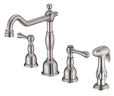 Danze D422057SS Opulence Two Handle Kitchen Faucet