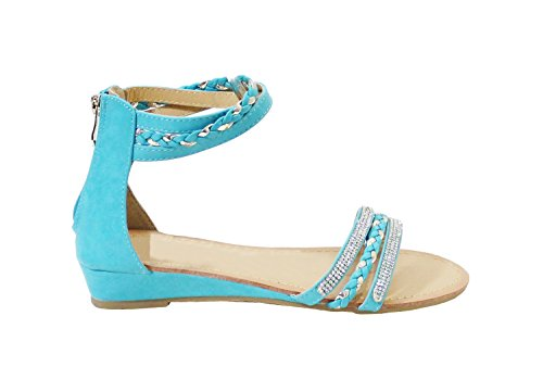 By Shoes -Sandalias para Mujer Azul