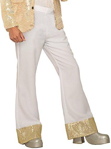Forum Novelties Men's Disco Pants-White, X-Large]()