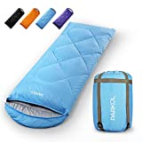 PARKOL Sleeping Bag for Adults & Kids - 3 Seasons Warm Cool Weather - Summer, Spring, Fall,...