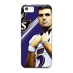 Iphone 5c Case, Premium Protective Case With Awesome Look - Joe Flacco In Super Bowl 2013