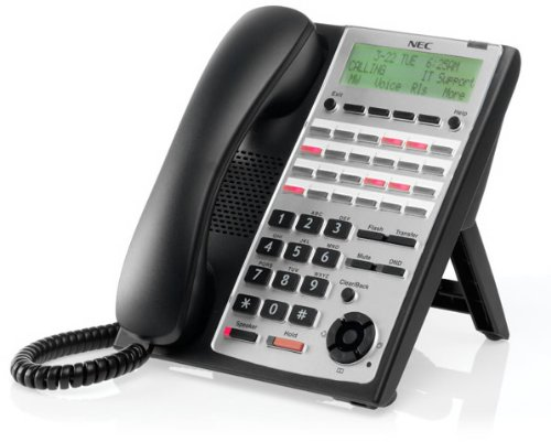 Sl1100 24-Button Full-Duplex Tel (Black) - Sl1100 24-Button Full-Duplex Backlit Display Tel (Black)Nec-1100063 - Full Duplex Backlit Display