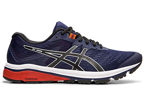 ASICS Men's GT-1000 8 Shoes, 10M, Peacoat/Black (Top 10 Best Running Shoes 2019)