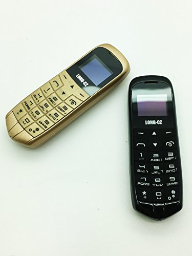 LONG-CZ J8 Bluetooth dialer earphone,Unlock 0.66 inch mini mobile phone SIM Card WCDMA & GSM (black) by LONG-CZ (Image #3)
