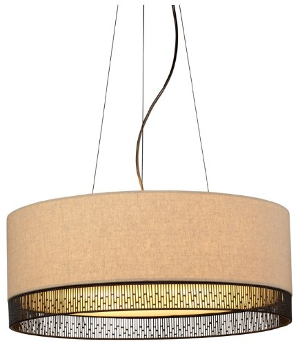 Hollywood Four Light Pendant (4 Light Drum Pendant Bulb Type: Incandescent)