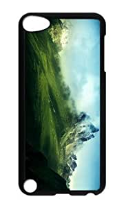 Ipod 5 Case,MOKSHOP Awesome himalaya mountains Hard Case Protective Shell Cell Phone Cover For Ipod 5 - PC Black