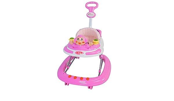 Walker bebé Andador Empuje Asistente T-etapa De Plegado Bebés ...