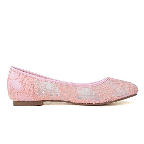 Noche Plata Dorada 20 Zapatos Mujer 9872 Boda De En Y yc Para Encaje L Plano Black Confort 1 OxqA7g0
