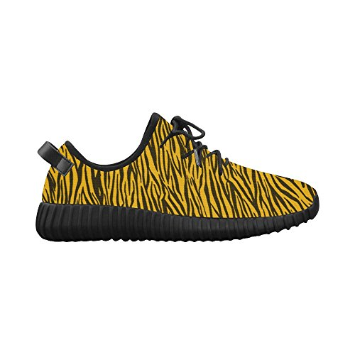 Story Model Womens Shoes Yellow Zebra Stripes Running Custom 022 Breatheable Grus Woven D dAvqPd