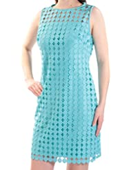 RALPH LAUREN Lauren Melia Dot-Lace Sheath Dress