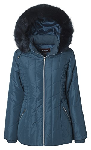 Quilted Winter Coat - 4