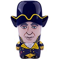 16GB George Washington Legends of MIMOBOT Designer USB Flash Drive with bonus preloaded Mimory content, Limited Edition by Mimoco - American Presidents Series