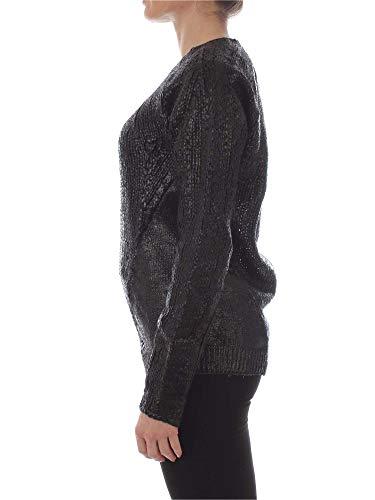 Mujer Lana Jijil Negro Suéter Mk057black HwOCTxnFA
