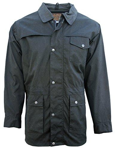 - Foxfire Oilskin Oilcloth Waterproof Outback Trail Australian Pathfinder Jacket