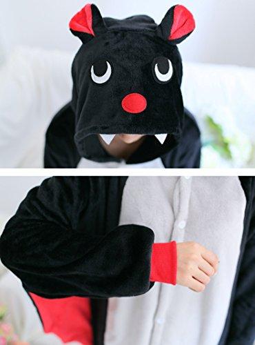 tonwhar® Pyjama Grenouillère chauve-souris Halloween Costume Homewear Lounge Wear