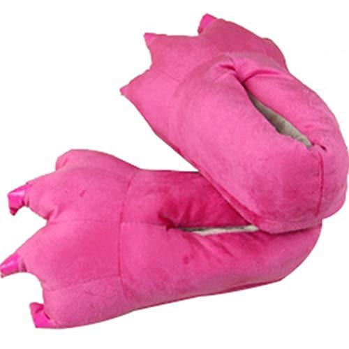 Peluche Slipper Unisexe Paw Modèle Chaud Chaussures Mignon 4 Chaudes Catoon Appartements Femmes Animal Pantoufles En Doux Belle qUwnR4wxv