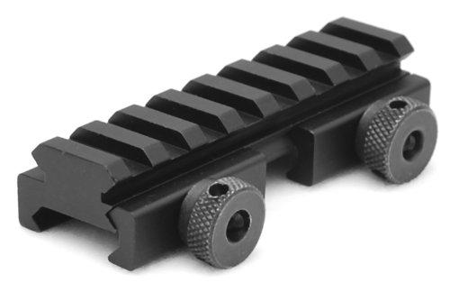 AR15 M4 FLAT TOP COMPACT 1/2 INCH RISER MOUNT PICATINNY RAIL, Outdoor Stuffs