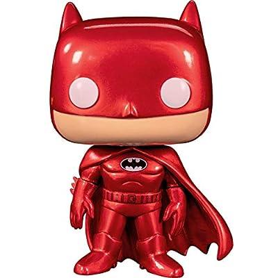 Pop! Heroes: DC Comics - Batman (Red Suit) Exclusive: Toys & Games