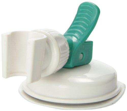 safe shower arm suction hose holder for hand held shower heads new ebay. Black Bedroom Furniture Sets. Home Design Ideas