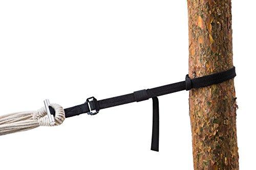 Amazonas t-strap-accessorio für Hängematte: schwarz
