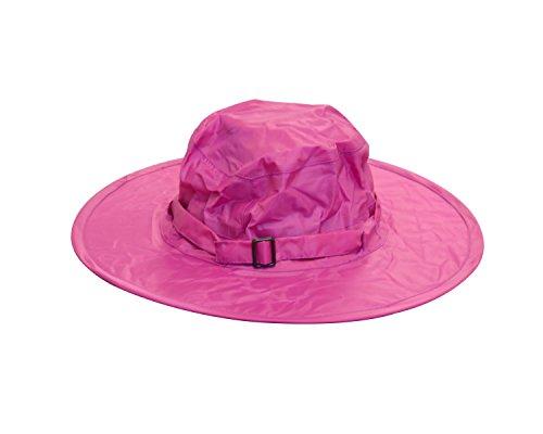 Twist-and-fold Childrens Rain Hat, 13 in Diameter Brim
