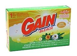 Gain W/ Bleach Powder Detergent - Coin Vend