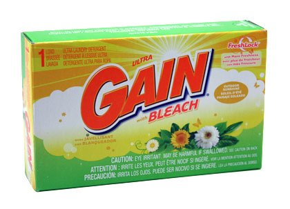 Powder Laundry Detergent Coin - Gain W/ Bleach Powder Detergent - Coin Vend