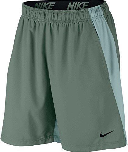 (NIKE Mens Flex Woven Shorts (Clay Grn/Light Pumice/Blk, Small))