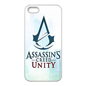 Assassin's Creed iPhone 5 5s Cell Phone Case White Protect your phone BVS_705985