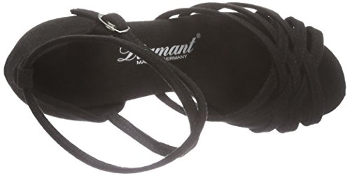 Noir Diamant de de Tanzschuhe Noir Chaussures 077 008 Damen Femme Salon Latein Danse 335 fFq47f
