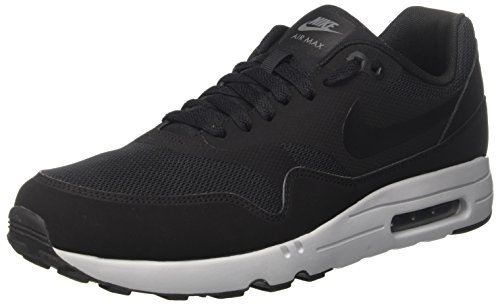 Nike Men's Air Max 1 Ultra 2.0 Essential Running Shoe 8.5 Black (1 Max Mens Ultra Nike Air)