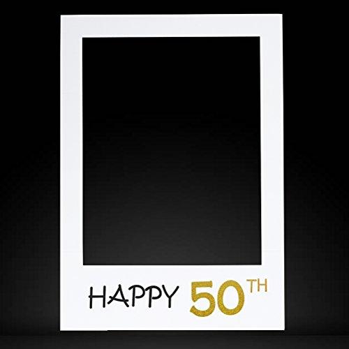 Anniversario Di Matrimonio Materiali.Luoem 50esimo Compleanno Anniversario Selfie Cornice Cutouts Photo