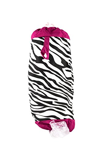 zebra garbage can - 3