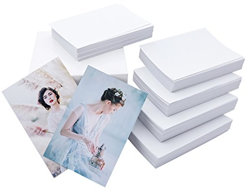 Matte Photo Paper 4x6, 500 Sheets (Economy Pack), Double Sided, 220gsm, 9.5mil - Long Menu Card