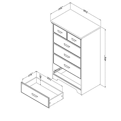 South Shore Versa Collection 5-Drawer Chest