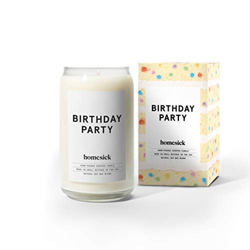Gift Cake Candle - Homesick Scented Candle, Birthday Party