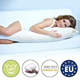 Beautissu Body Pillow 145 cm BeauNuit SK Premium COOL Support Belly Positioning Cusion for Pregnancy Maternity