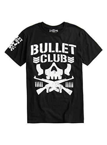 Hot Topic New Japan Pro Wrestling Bullet Club Logo T Shirt