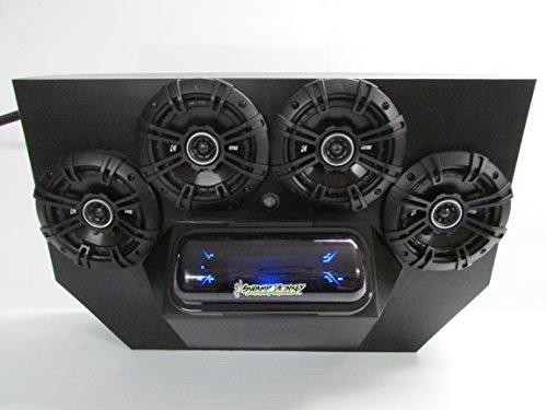(SD 894BBT4B -Polaris RZR 800 & 900 4-seater Stereo System BT UTV Side by Side (4-5.25