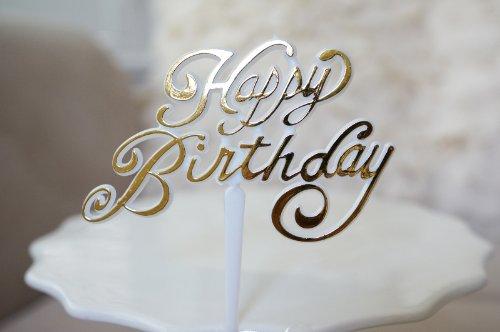 Happy-Birthday-Cake-Cupcake-Party-Birthday-Pick-Gold-4-count