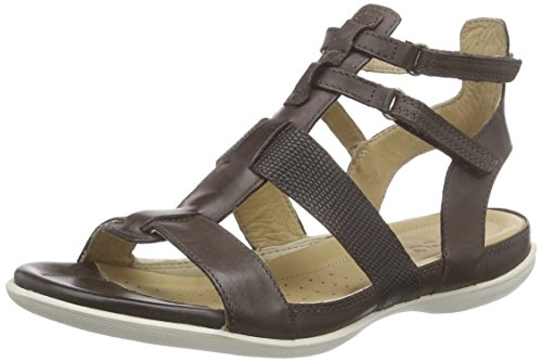 ECCO Footwear Womens Flash Ankle Gladiator Sandal, Coffee, 40 EU/9-9.5 M (Ecco Flash)