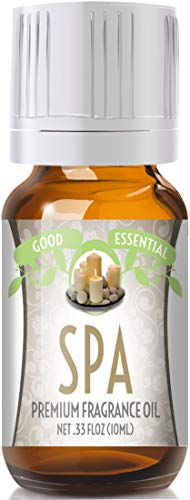 Spa Scented Oil by Good Essential (Premium Grade Fragrance Oil) - Perfect for Aromatherapy, Soaps, Candles, Slime, Lotions, and More! (Spa Essentials Lotion)