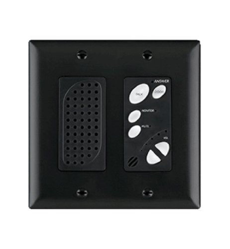 Legrand - On-Q IC1004BK Intercom Room Unit, Indoor, Black