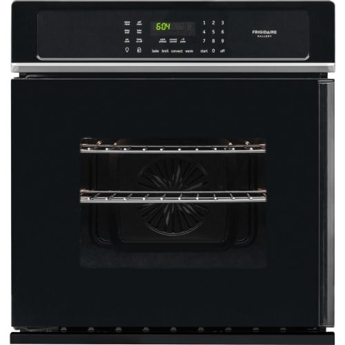 Frigidaire FGEW276SPB 27″ 3.8 Cu. Ft. Capacity Electric Single Wall Oven in Black