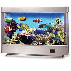 12u0026quot; Living Aquarium Fish Lamp And Nightlight